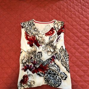 WHBM Floral Sweater